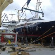 Carga de proyectos para náutica