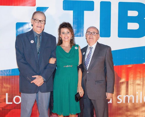 Eloy Caracuel , Arantxa Revert y Pepe Calabuig