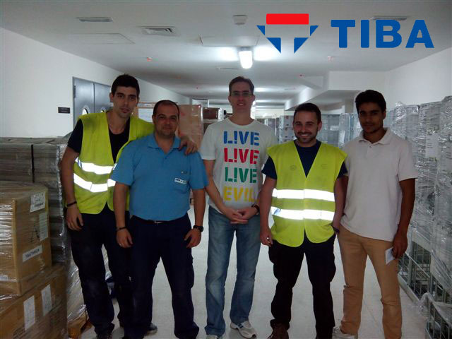 TIBA logistica hotel Hilton Tanger