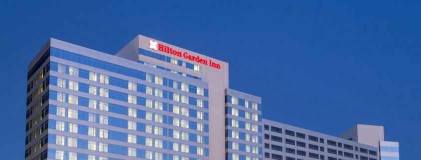 Logística hotel Hilton