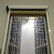 Almacén frigorífico en Sines, Portugal