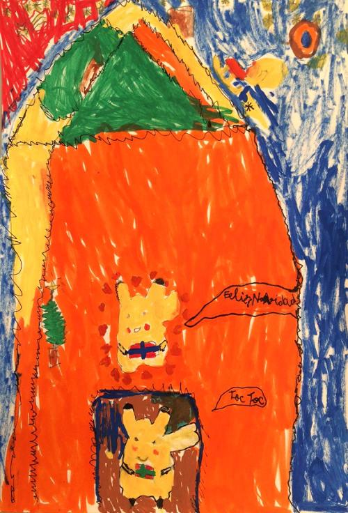 1r Premio, categoría 4 - 8 años. Siro García