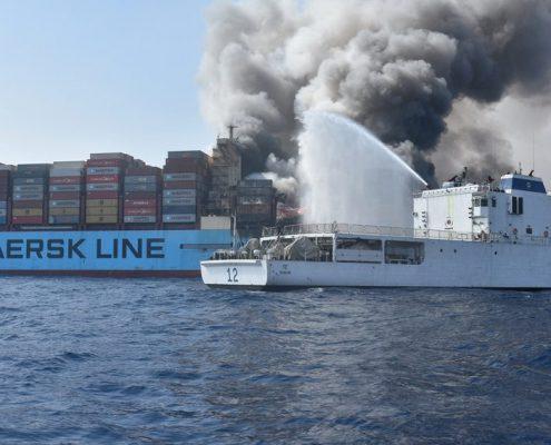 Incendio Maersk Honam