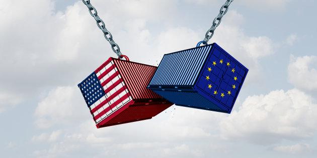Europa aplica aranceles a la importaciones de EEUU
