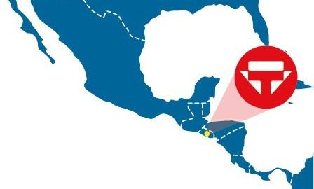 Agente de carga en El Salvador