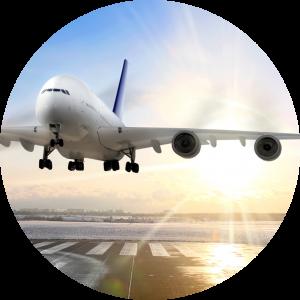 Transporte aereo de mercancías