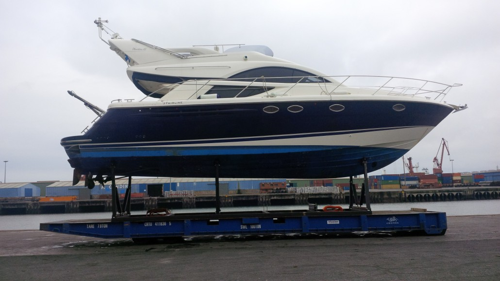 Yacht Bilbao – Kotka with Finnlines