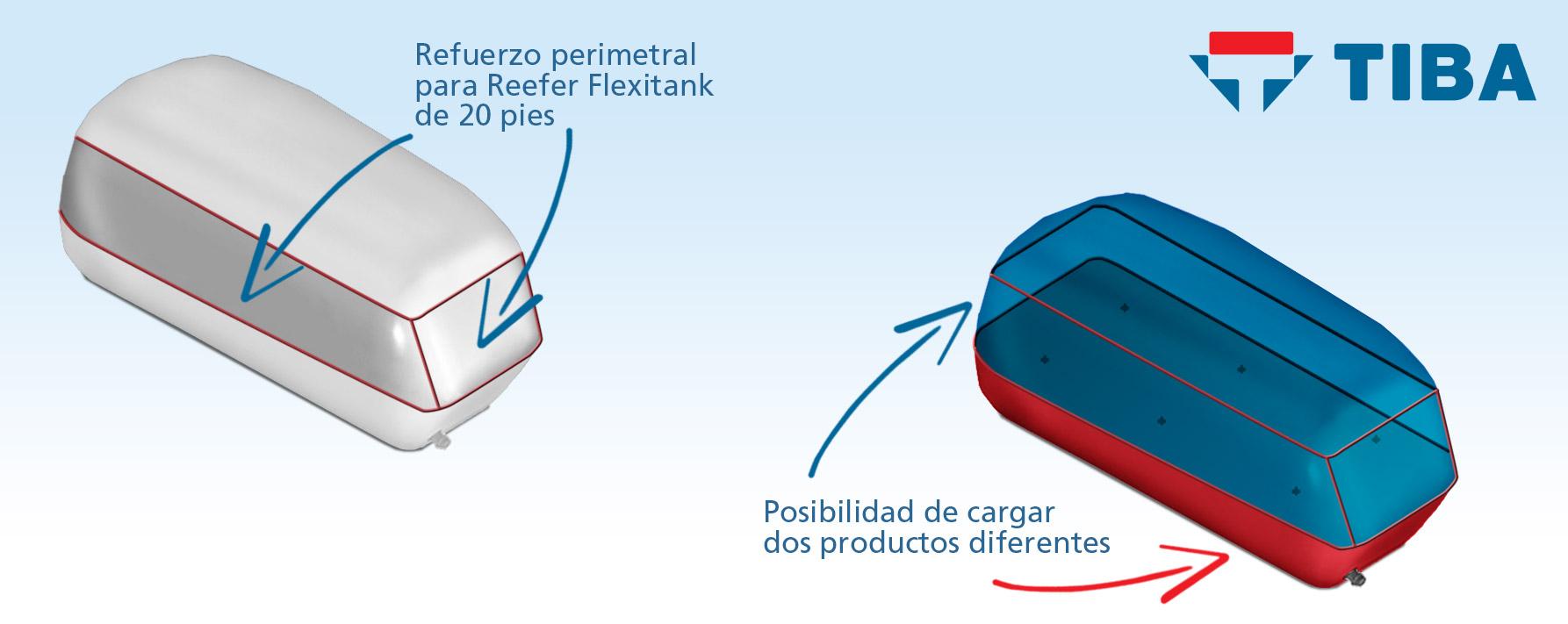Refuerzo / Dos productos 20p - Reefer Flexitank