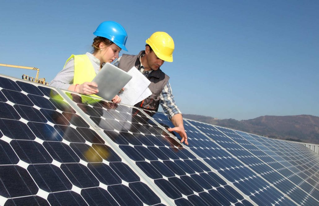 Solar energy component shipping