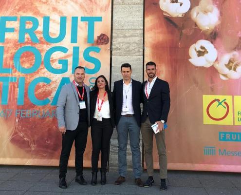 TIBA team en Fruit Logisitca Berlin